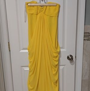 Laundry by Shelli Segal Yellow Gown